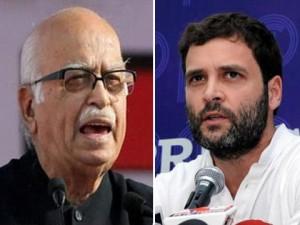 advani vs rahul