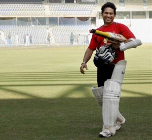 sachin in wankhede