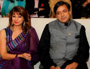 43 shashi tharoor with his wife