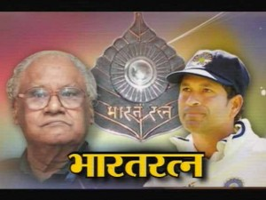 sachin And CNR Rao