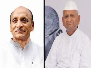 padmasinha and anna hazare