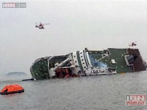 south korea ferry sinks