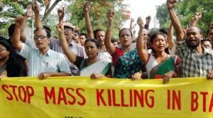 Protest in Guwahati