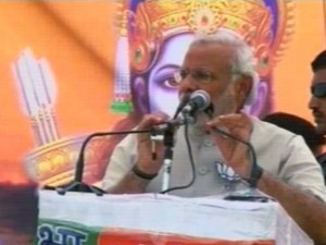 modi says jai shree ram