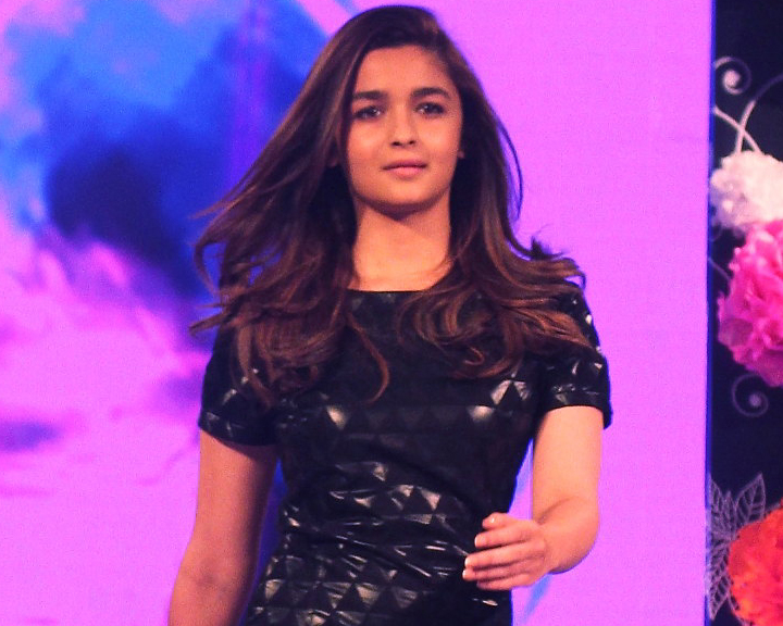 'Bollywood actress Alia Bhatt launches her line of apparel called ' Alia Bhatt for Jabong ' at an event organised in Mumbai on 29th September 2014. Anushtree Fadnavis / Indus Images'