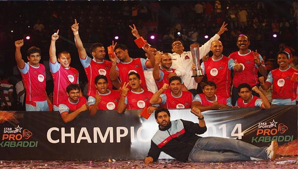 Pro Kabbadi Final Winners