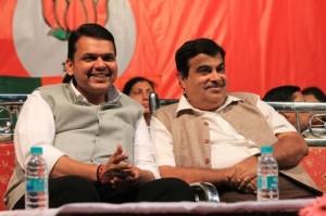 Devendra Fadnavis & Nitin Gadkari