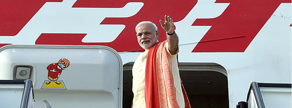 modi air india
