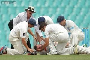 Phillip Hughes injury