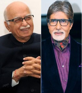 advani and bacchan