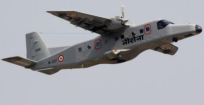 Navy's Dornier aircraft crashes