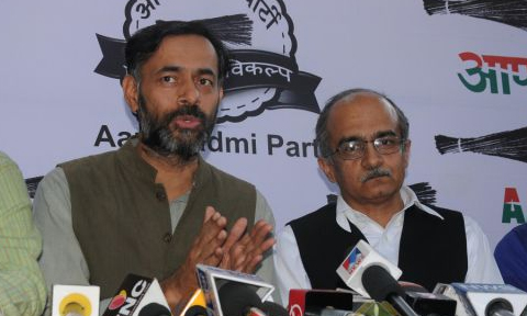 prashant bhushan and yadav