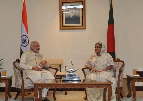 BANGALADESH PM VIST (2)