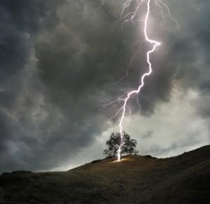 dhule lightning strike