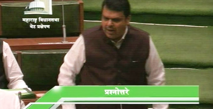 Devendra fadnavis in VS