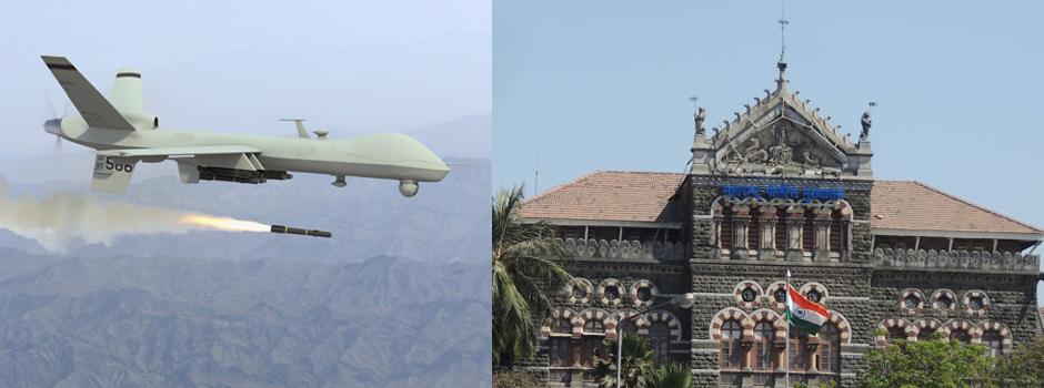 drone attack alert