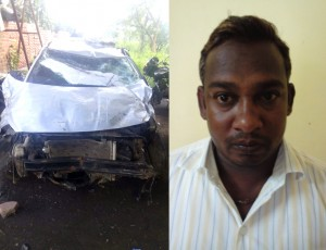 mumbra car accident