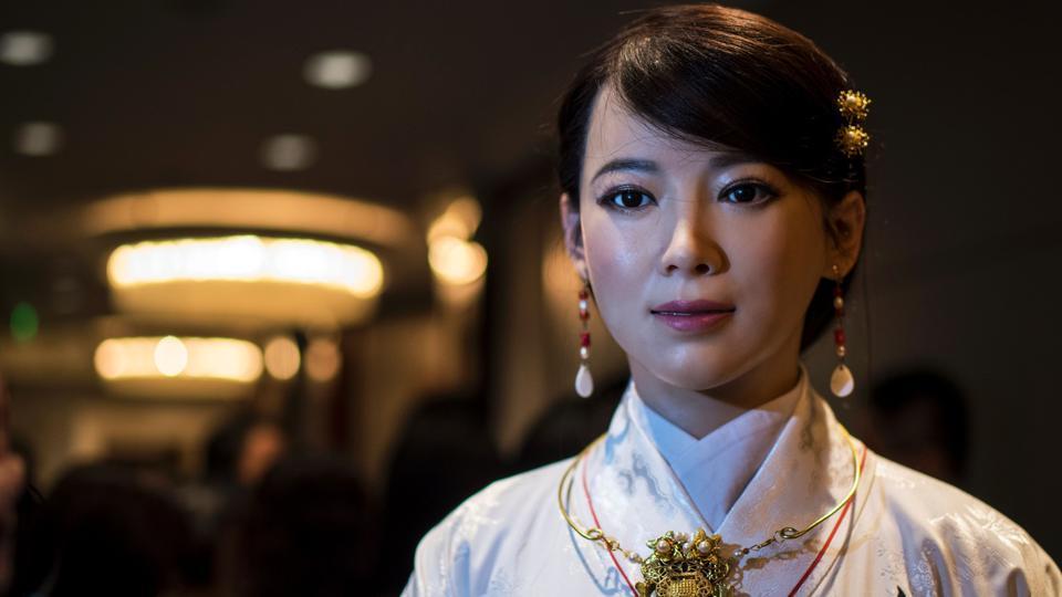 china beautiful robot