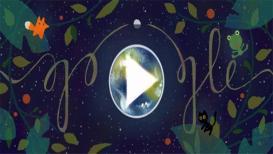 गुगलने डुडलमधून दिला पृथ्वीला वाचवण्याचा संदेश