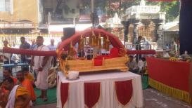 अंबाबाईची सुवर्णपालखी 1 मे रोजी देवीच्या चरणी अर्पण