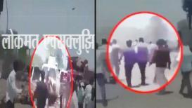 हेलिकाॅप्टर कोसळल्यानंतर मुख्यमंत्र्यांना वाचवतानाचा हाच तो व्हिडिओ