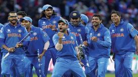महामुकाबल्यातली भारताची क्रिकेट टीम