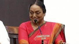राष्ट्रपतीपदाच्या निवडणुकीसाठी मीरा कुमार यांची उमेदवारी दाखल