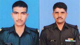 जम्मू-काश्मीरमध्ये दहशतवाद्यांशी लढताना महाराष्ट्राच्या 2 जवानांना वीरमरण