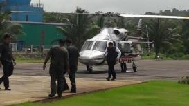 होय,रायगडमध्ये हेलिकाॅप्टर अपघातातून बचावलो, मुख्यमंत्र्यांची कबुली
