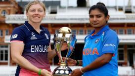 LIVE #WWC17Final : भारताला दुसरा धक्का, कॅप्टन मिताली राज आऊट