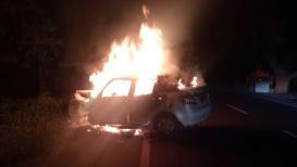 पुण्यात स्विफट कारला आग, 3 प्रवाशांचा जळून मृत्यू