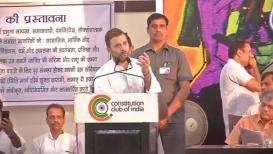 प्रसारमाध्यमं आणि प्रशासनात आरएसएस आपली माणसं घुसवतोय- राहुल गांधी