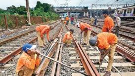 आज मुंबईत पश्चिम रेल्वेवर 'जंबो' ब्लॉक