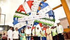 मुंबईत महाकाय टनेल बोरिंग मशीन दाखल, मेट्रोसाठी करणार भुयारी मार्ग !