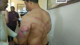 अमरावतीत डीजे बंद करण्यावरून तिवारी कुटुंबाला पोलिसांची मारहाण