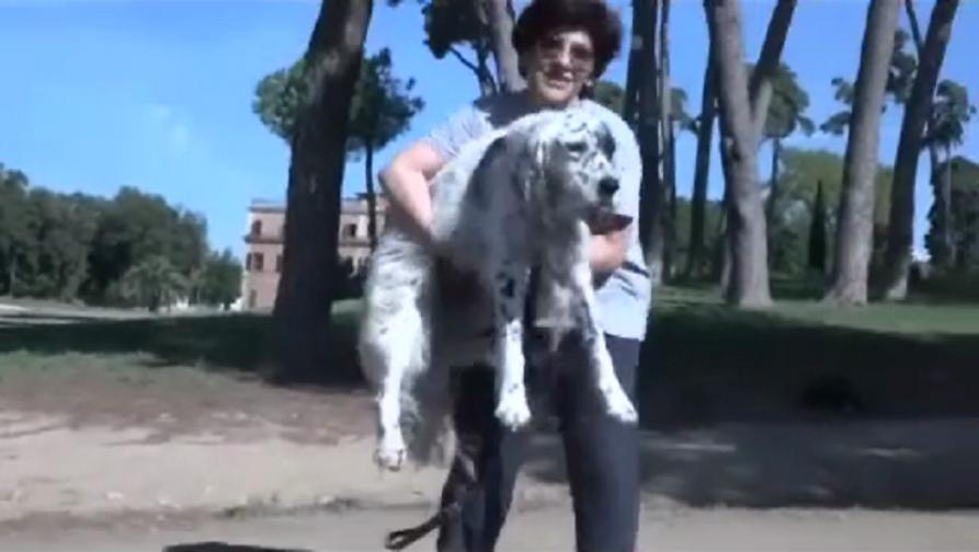 इटलीत कुत्र्याच्या शुश्रूषेसाठी महिलेला मिळाली रजा